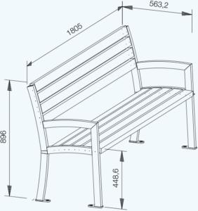 Curvum Bench