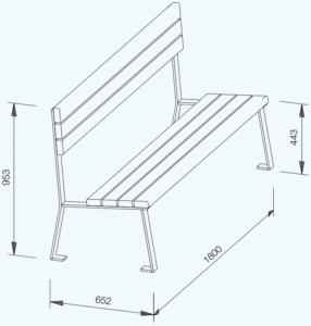 Simplum technische Zeichnung